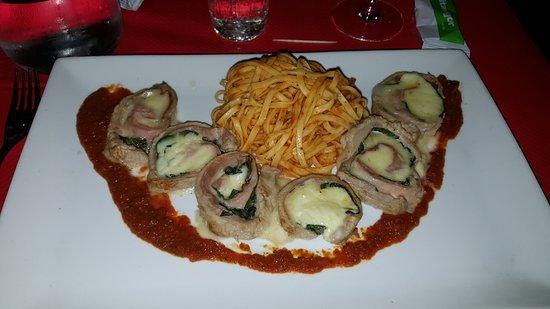 Biot, Francia: Je ne me souviens pas du nom de mon plat mais c'était délicieux