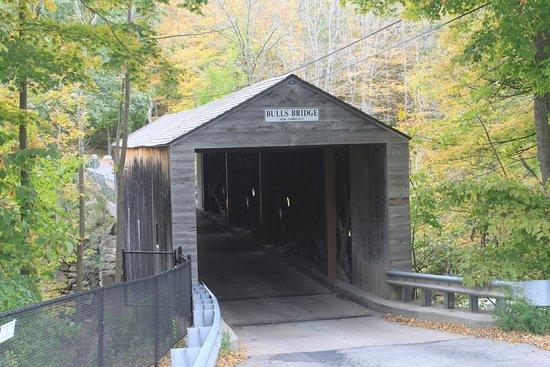 Kent, CT: De Bulls Bridge langs de 7
