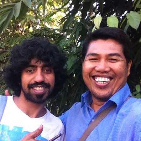 Jimbaran, Indonesia: End of tour with my best friend Mr Hussam, thanks for all your support and best relationship :)