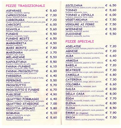 Albignasego, อิตาลี: pizze tradizionali e speciali