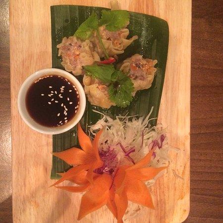 Camberley, UK : Thai bright dumpling starter