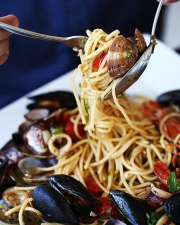 Etna Ristorante & Pizzeria: Spaghetti scoglio