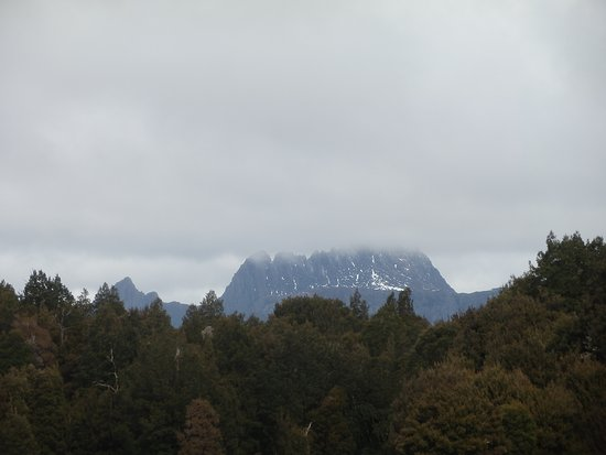 Cradle Mountain-Lake St. Clair National Park, Australia: View from visitor center deck