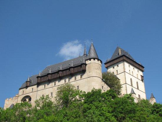 Karlstejn, République tchèque : замок Карлштейн