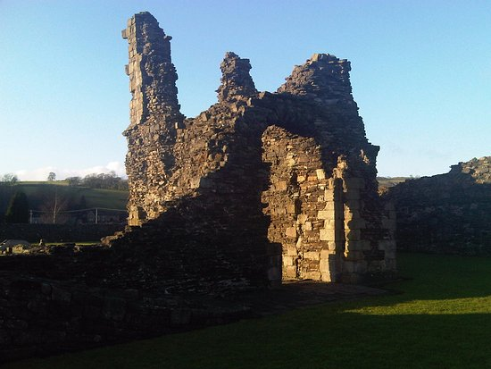 Sunset at Sawley Abbey