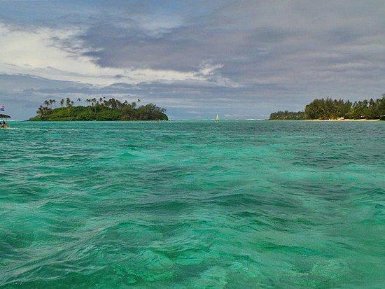 Muri, Islas Cook: Im Schnorchelrevier angelangt