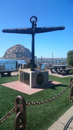 Morro Bay, CA: Der Anker im Park