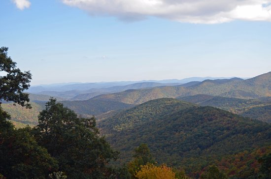 Pisgah Inn: Incredible views from your balcony!