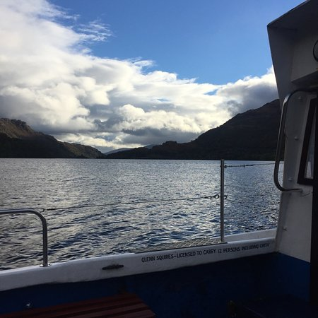 Ardlui Hotel: Ferry back to west highland way