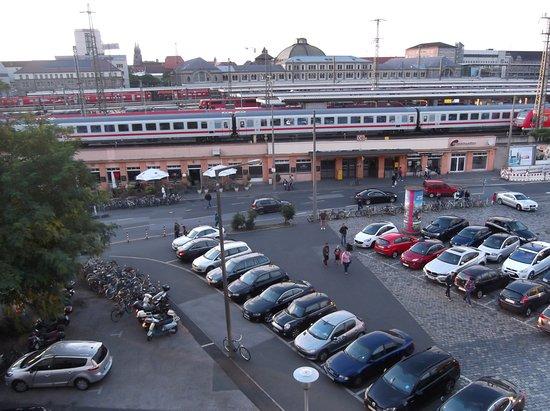 Ringhotel Loew's Merkur: View from room
