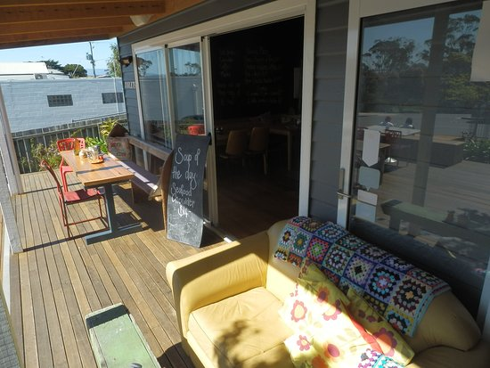 Bridport, Australia: First part of the deck