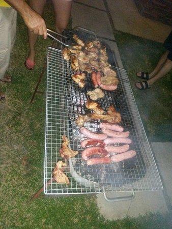Captain's Villa: BBQ am Freitag