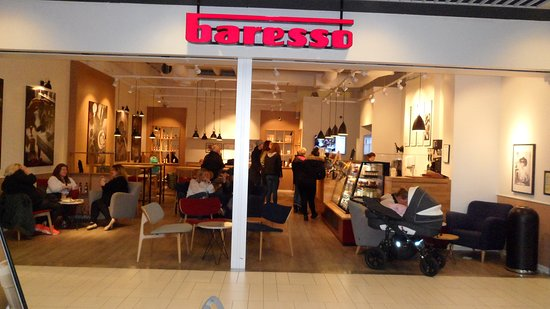 Baresso i Glostrup Shoppingcenter