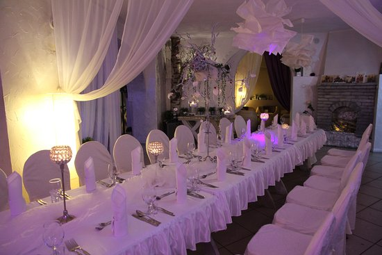 Elblag, Polônia: sala weselna