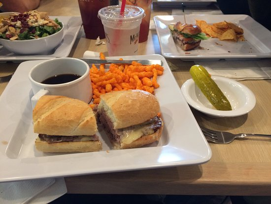 Vernon Hills, IL: My first visit. French Dip and chips