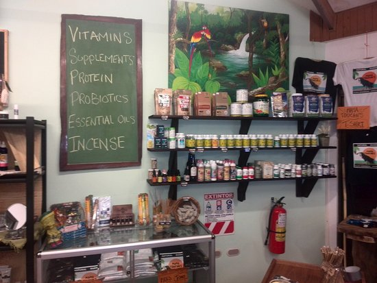 Dominical, Costa Rica: Excellent selection of hard to find Vitamins and Supplements