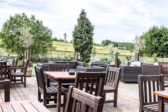 Stonedge, UK: Terrace