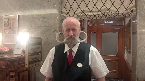 Hotel Stefanie: What a mustache