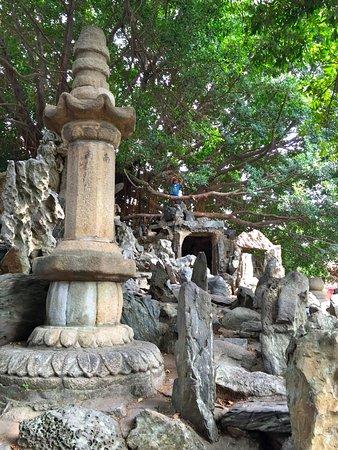 Quanzhou, Çin: Kletterfelsen