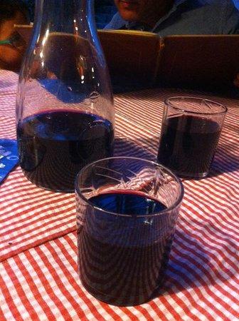La Pergola d'oro : vino della casa