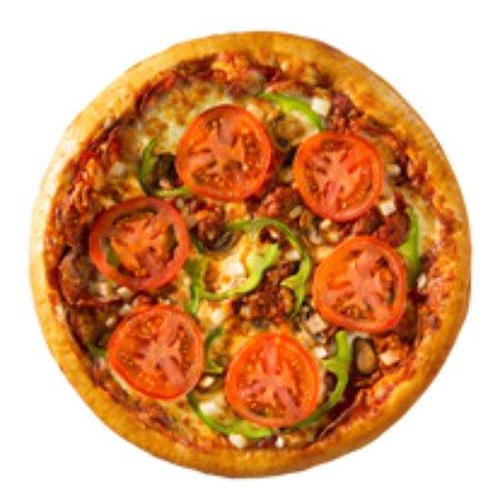 Saint Hyacinthe, Kanada: La pizza Spéciale Normandin