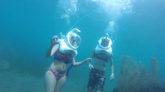 Bouillante, Гваделупа: On l'a fait!