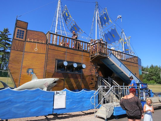 Cavendish, Canada: Ride the pirate ship