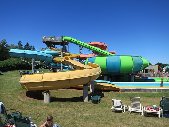 Cavendish, Canada: Waterslides