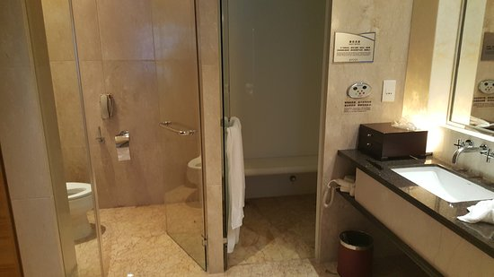 Toilet and steam room - Picture of HJ International Hotel ...