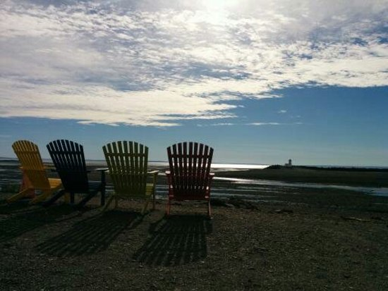 Parrsboro, Canada : View from Harbour View Restaurant