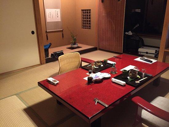 Kaminoyama, Japão: 清潔で小洒落て、つきと星の美しい温泉宿