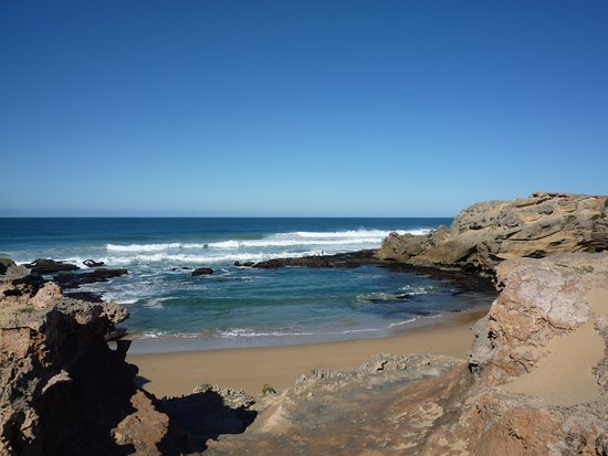 Kenton-on-Sea, Sydafrika: Rated as one of the best beaches in the world!