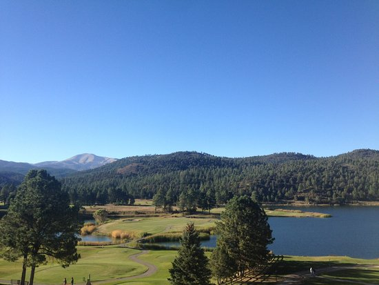 Mescalero, Nuevo Mexico: This is the view we woke up to this morning!!