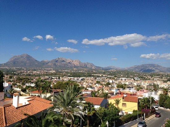 El Albir, Spanien: Esta es la vista desde la habitación, preciosa verdad?