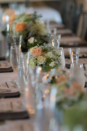 Ellicottville, NY: Wedding Centerpiece