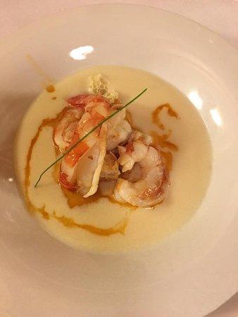 Tiro A Segno: Zuppa d'aglio con mazzancolle