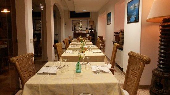 Hotel Il Vascello: La sala ristorante
