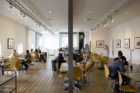 Halesworth, UK: The Cut Cafe in 2015