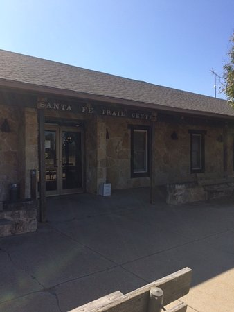 Santa Fe Trail Center: Main Entrance
