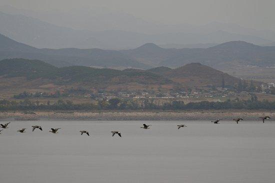 Ganghwa Peace Observatory : 北を眺望する