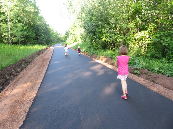 Ironwood, MI: the West end of the trail