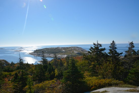 West Dover, Canada: view from Polly's Cove Trail