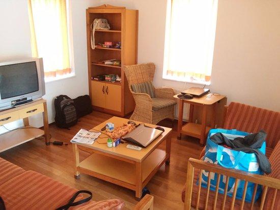 Bruinisse, The Netherlands: Wohnzimmer