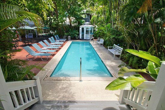 Ambrosia Key West Tropical Lodging: One of our 2 pools