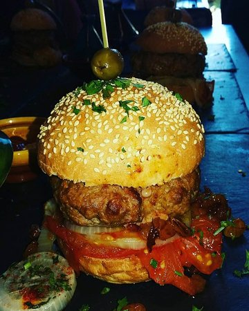 Yutz, France : le burger!!!