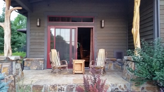 De Beque, CO: Room porch