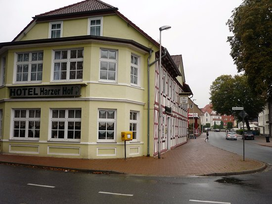 Hotel Harzer Hof: In a central location within easy walk of the whole town .