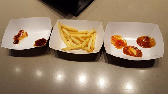 Santee, Californien: French Fries for Tasting Sauces