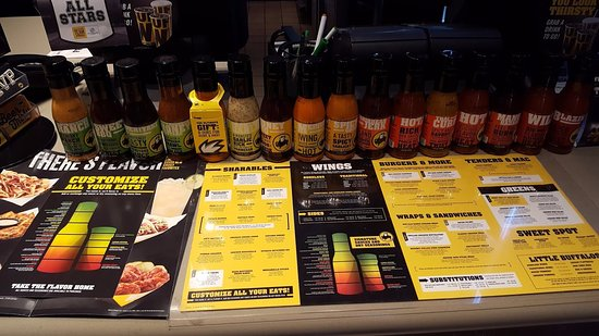 Santee, CA: 18 different flavors of Sauces