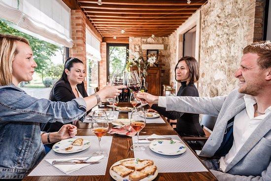 Montemerano, Ιταλία: degustazione
